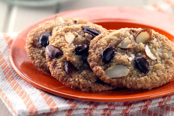 Gluten Free Stevia Chocolate Chip Cookies