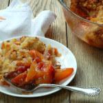Grain-Free Peach Crisp