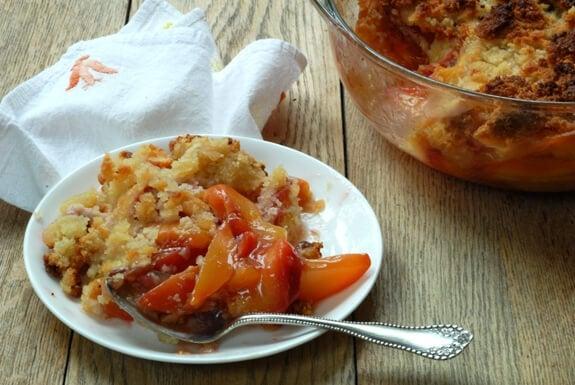 Grain-Free Peach Crisp | Gluten-Free Dessert Recipe