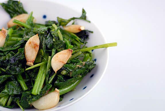 broccoli rabe with garlic recipe