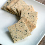 Vegan Herb Crackers