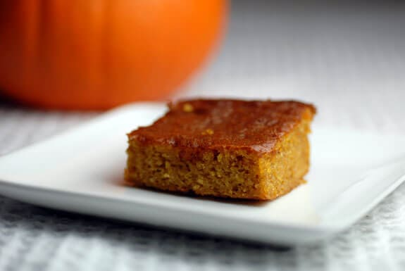 Easy Paleo Pumpkin Bars Recipe | Elana's Pantry