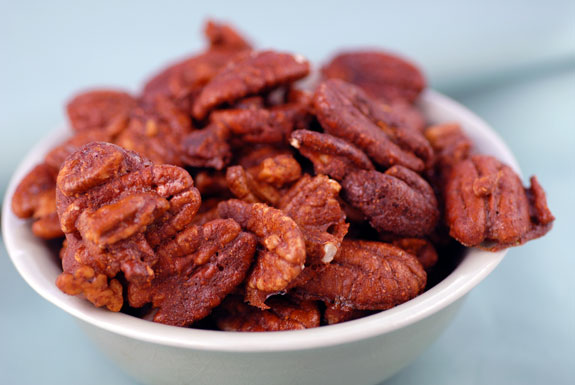Spiced Pecans - Healthy Spiced Nuts Recipe