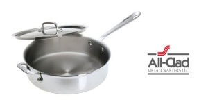 all clad 4-quart saute pan