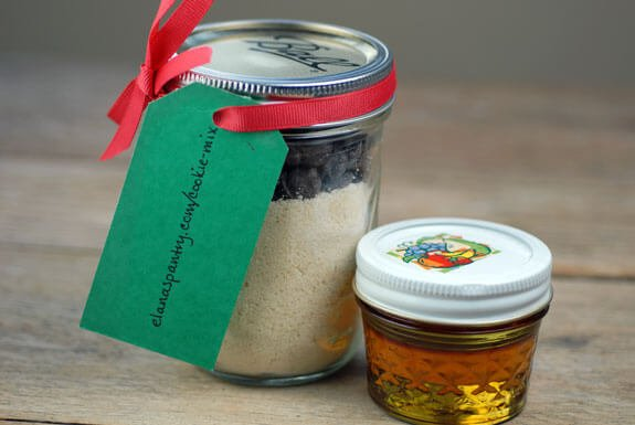 gluten free chocolate chip cookie mix gift jar