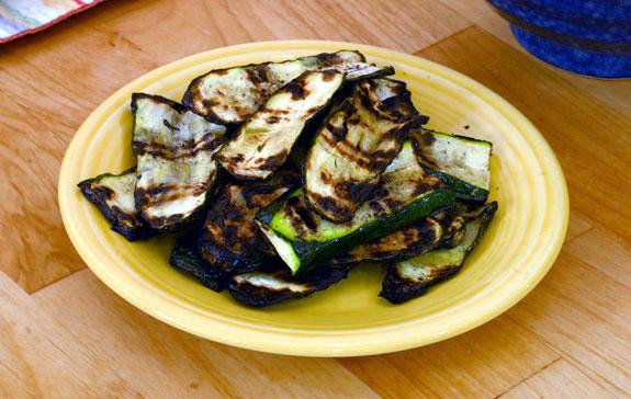 grilled zucchini gluten-free recipe