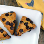 orange dark chocolate scones