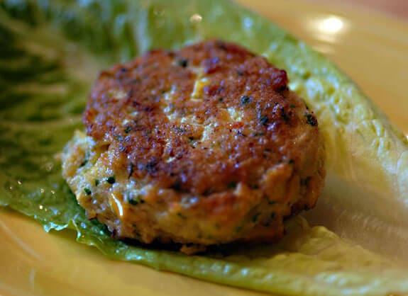 shrimp cakes burgers gluten-free recipe