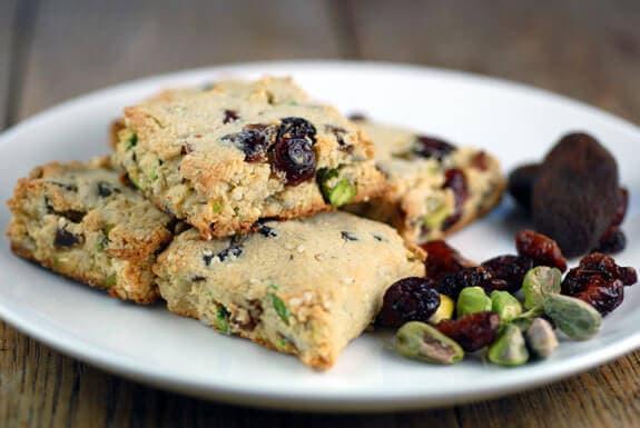 muesli scones paleo gluten-free recipe