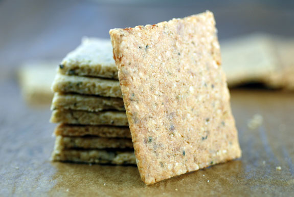 "Gluten Free and Grain Free Multi ""Grain"" Crackers Recipe"