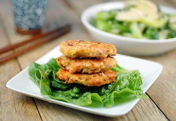Paleo Sesame Salmon Burgers Recipe | Elana's Pantry