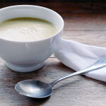 broccoli soup gluten-free vegetarian vegan creamy easy recipe