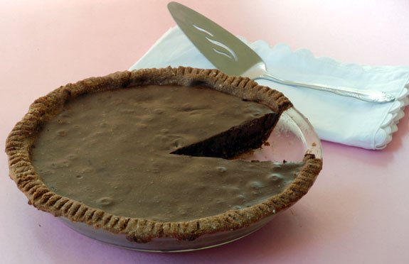 paleo chocolate pie
