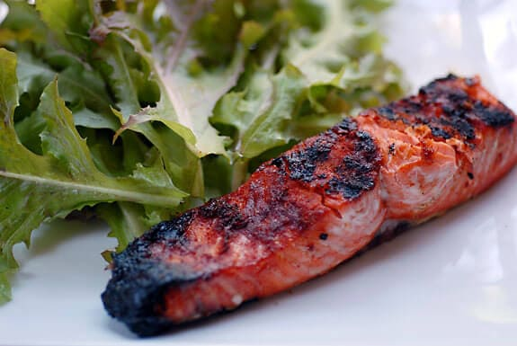 grilled salmon paprika recipe gluten-free high-protein