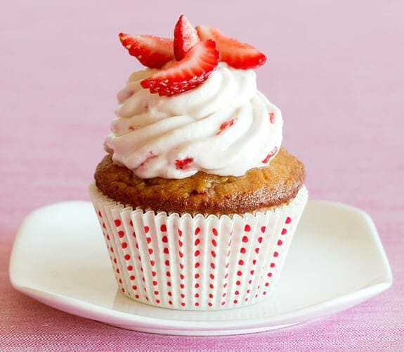 strawberry cupcakes gluten-free dairy-free nut-free recipe