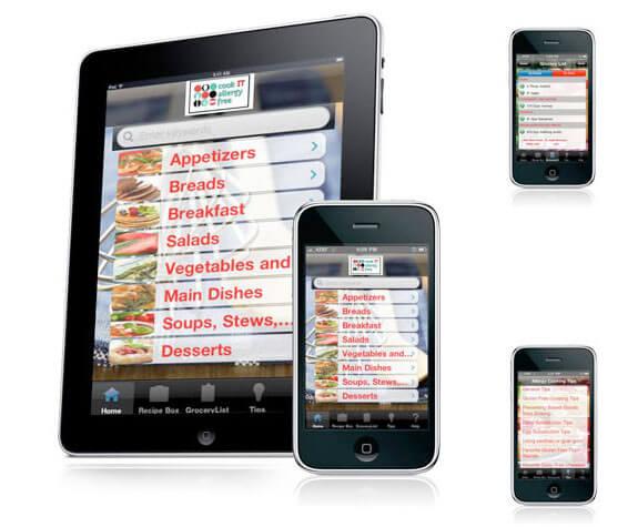 cook it allergy free ipad iphone app