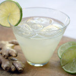 ginger lime mocktail cocktail