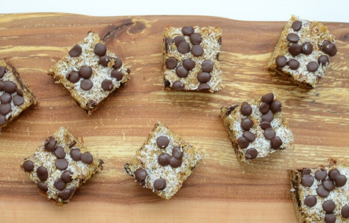 Chocolate Almond Joy Bars
