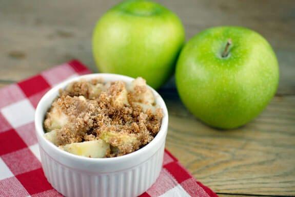 apple crisp with xylitol gluten-free recipe