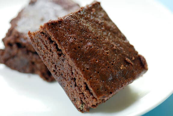 espresso fudge brownies gluten-free recipe