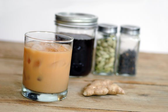 Homemade Iced GInger Chai Recipe