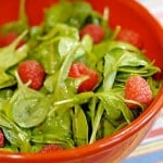 Arugula Salad with Raspberry Vinaigrette
