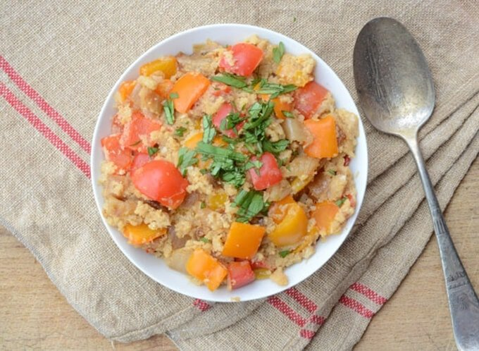 Paleo DIrty Rice
