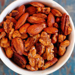 paleo spiced nuts vegan gluten-free recipe