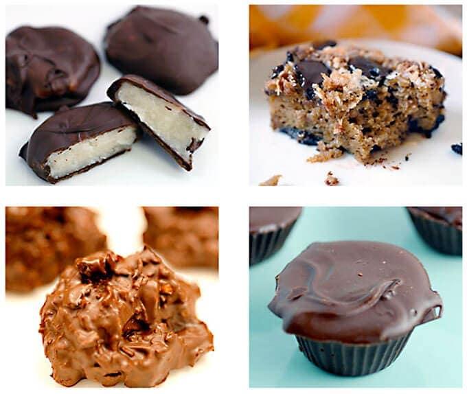 Healthier Halloween Candy recipes
