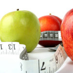apples and measuring tape nutrition information