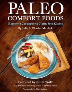 paleo comfort foods book cover