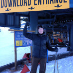 elana amsterdam skiing