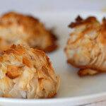 paleo coconut macaroons dessert recipe