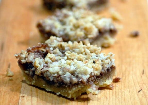 Gluten-Free Raspberry Coconut-Almond Bars Recipe — Dishmaps