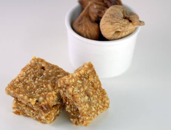 vanilla fig bars gluten-free dessert bar recipe