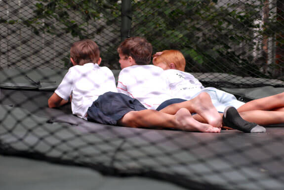 boys trampoline