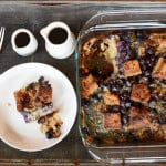 paleo blueberry french toast casserole