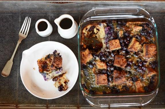 paleo blueberry french toast casserole mothers day recipe