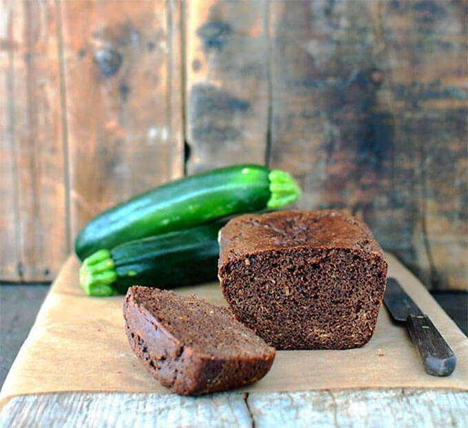 Paleo Chocolate Zucchini Bread recipe