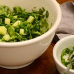 Arugula Cucumber Salad with Lemon Vinaigrette