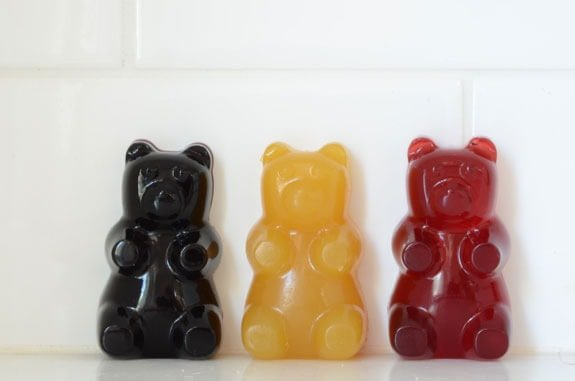 fruit juice sweetened gummy bears recipe