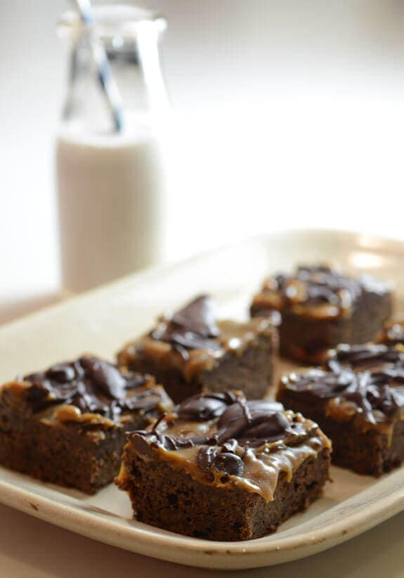 paleo caramel brownies dessert recipes