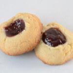 Raspberry Thumbprint Cookies