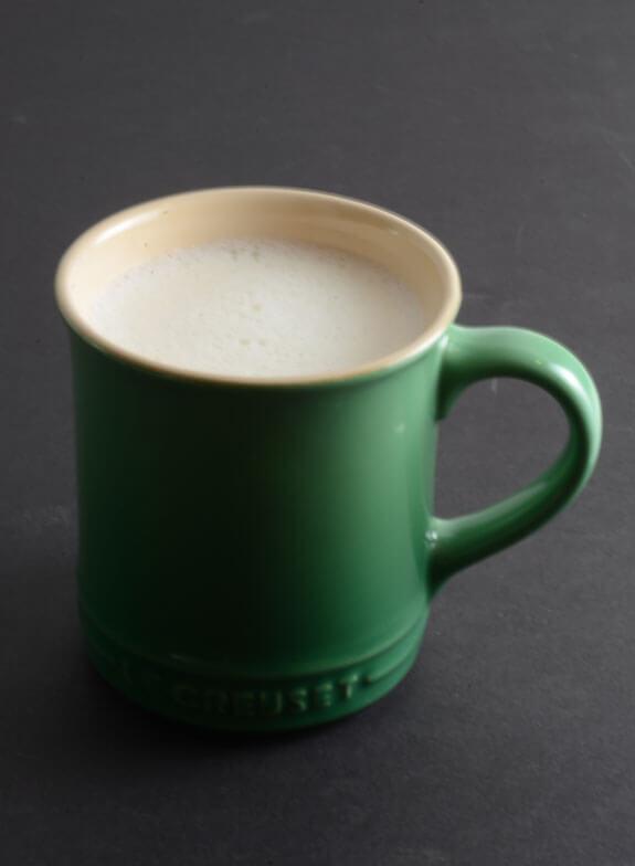 Healthy White Hot Chocolate recipe
