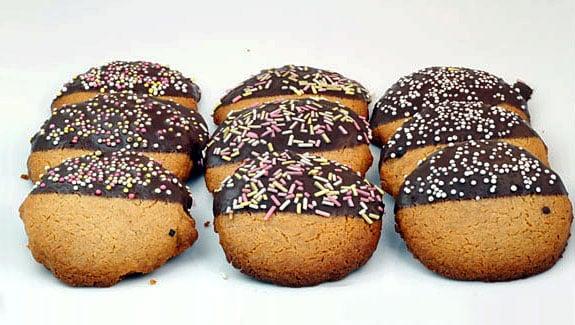 Ginger Shortbread Cookies recipe