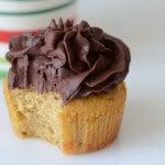 paleo vanilla cupcakes chocolate frosting dessert recipe
