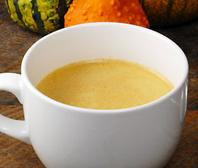 spiced pumpkin latte hot drinks recipe