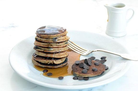 Banana Chocolate Chip Pancakes paleo recipe