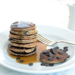 Banana Chocolate Chip Pancakes paleo recipe