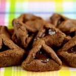 Nut-Free Chocolate Hamantaschen purim recipe